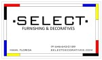 Select Furniture and Decoratives